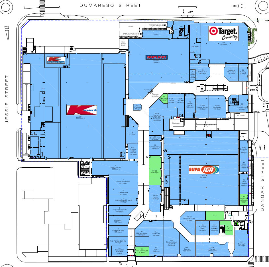 DNG Interactive Mall Map